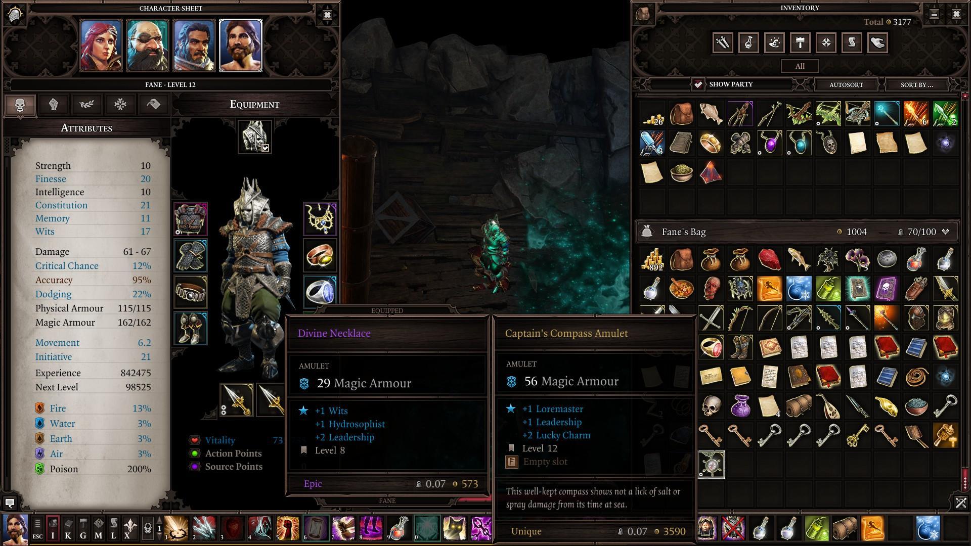 Divinity: Original Sin 2 - Unique Items in the Reaper's Coast