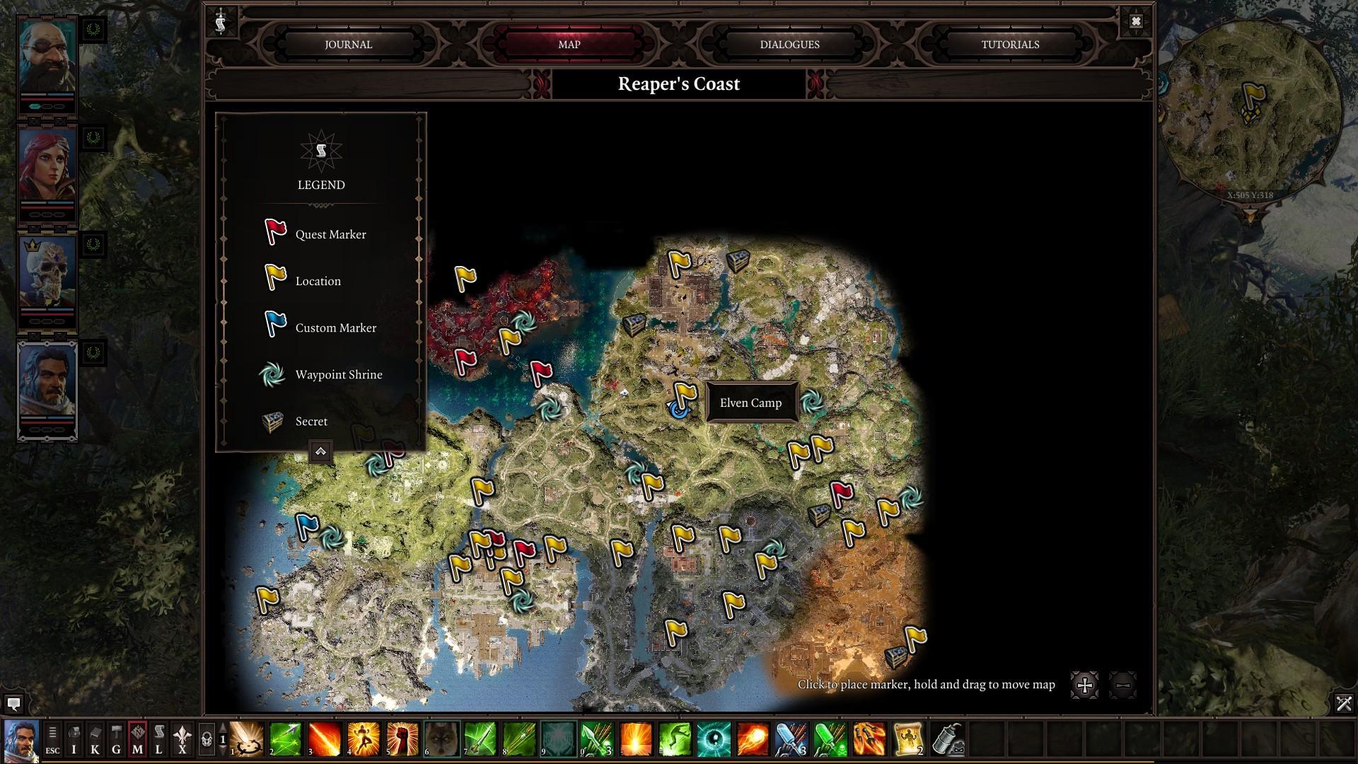 Divinity Original Sin 2 Unique Items In The Reaper S Coast
