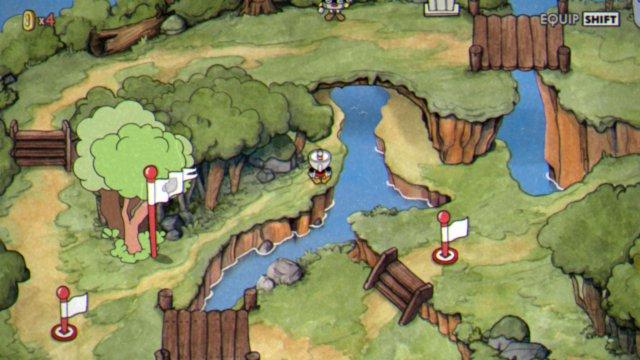 Cuphead - World Map Secrets, Hidden Coin Hunter