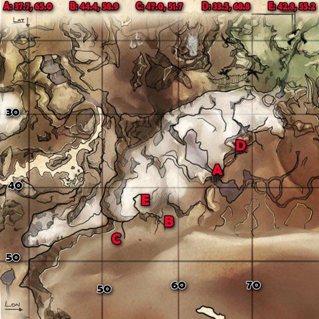 ARK: Survival Evolved - Ice Wyvern Egg Locations (Ragnarok)