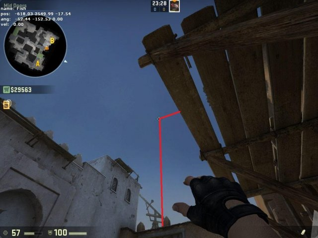 Counter-Strike: Global Offensive - Basic Smokes and Pop Flashes (New Dust 2)