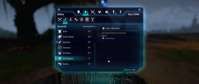 ELEX - Important Skills