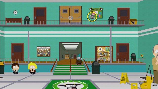 South Park: The Fractured But Whole - Todas las ubicaciones de Mr. Adams en la cabeza