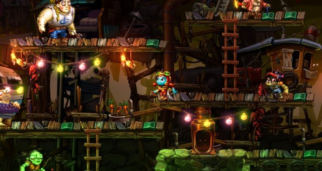 SteamWorld Dig 2 - Lazy Person Achievement