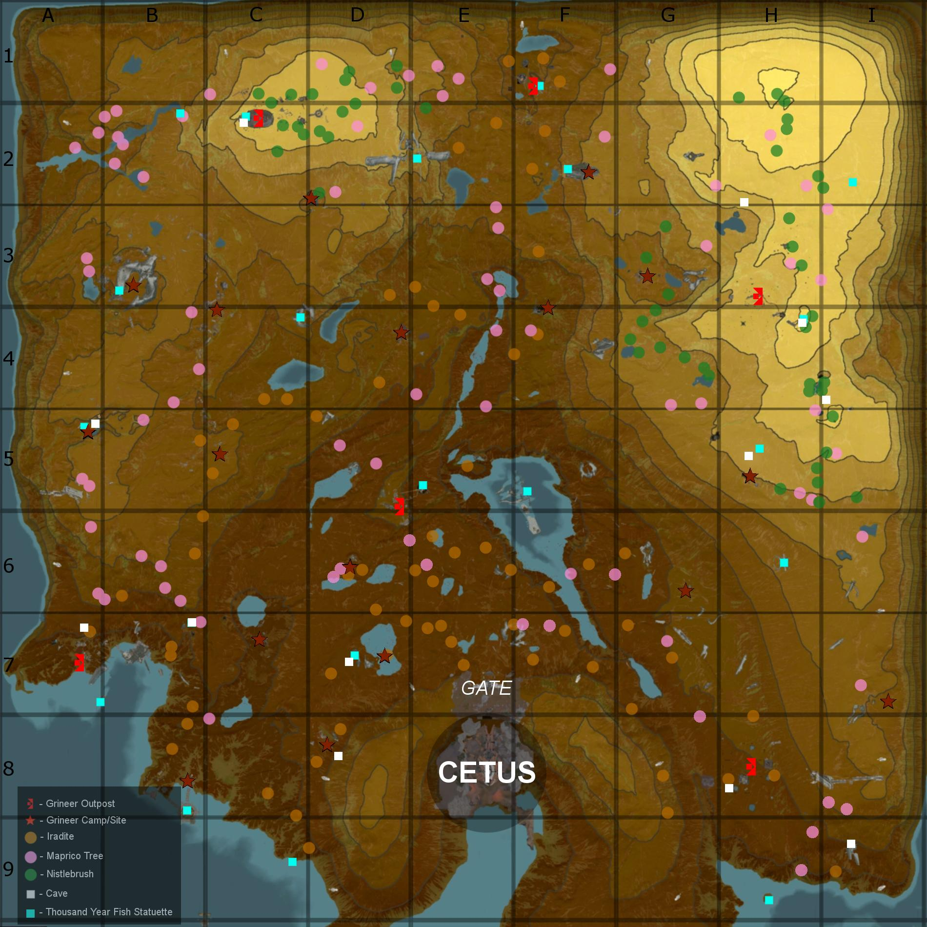 Warframe plains of eidolon resource farming locations for How to fish in warframe