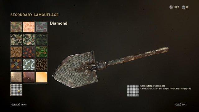 Call of Duty: Segunda Guerra Mundial - Easy Diamond Camo