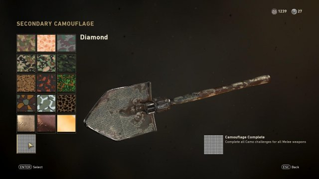 Call of Duty: WWII - Easy Diamond Camo