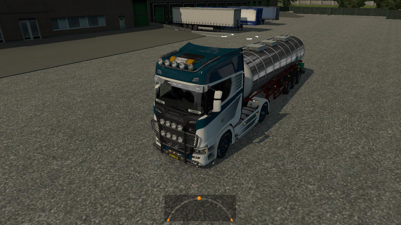 Euro Truck Simulator 2 - How to Reverse with a Trailer