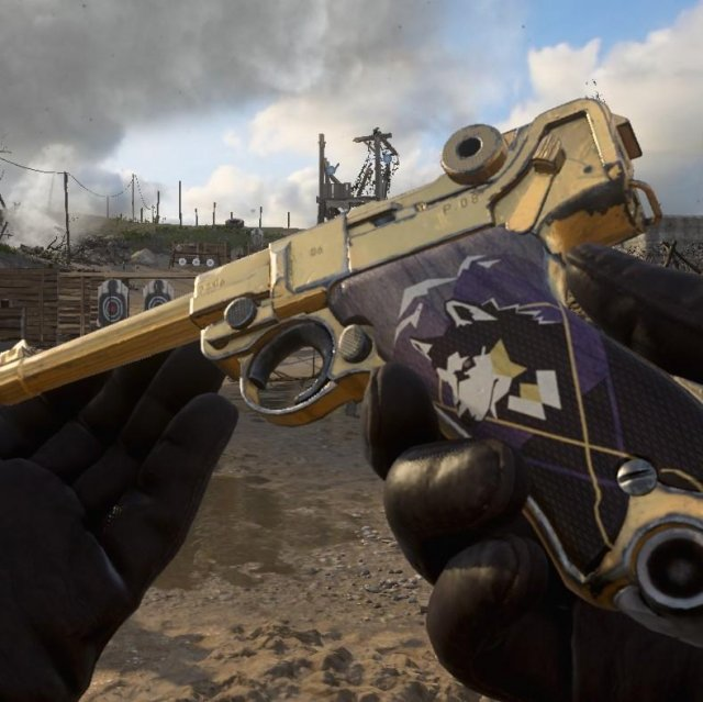 Call of Duty: WWII - How to Get Free Gold Camo for P08 Luger Pistol