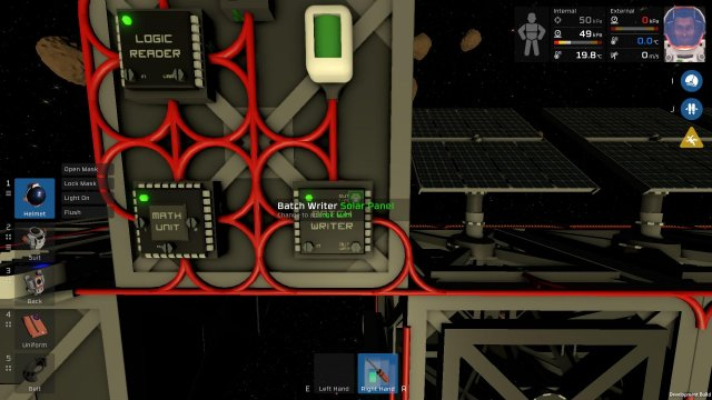 Stationeers - Simple Logic Chip Solar Tracker