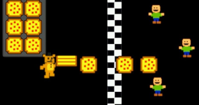 Freddy Fazbear's Pizzeria Simulator - Secret Minigame with Lore