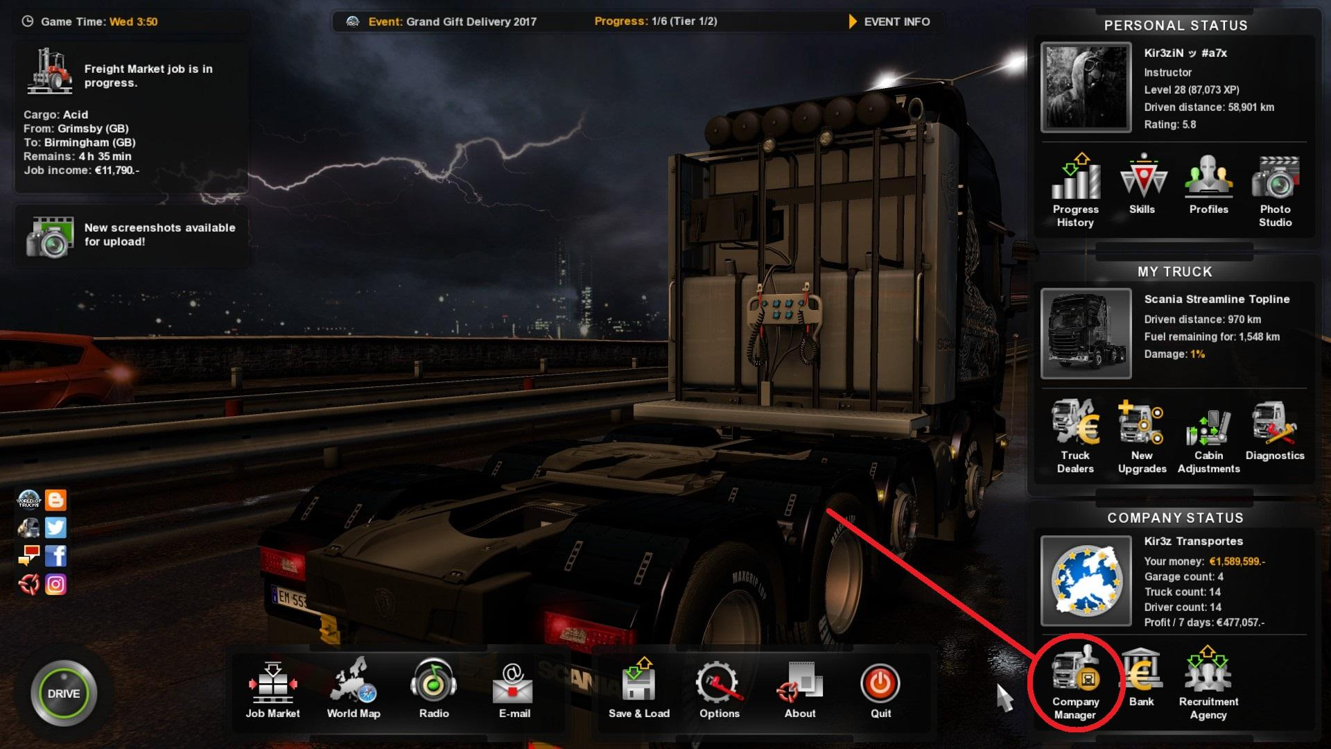 Euro Truck Simulator 2 Easy And Fast Money