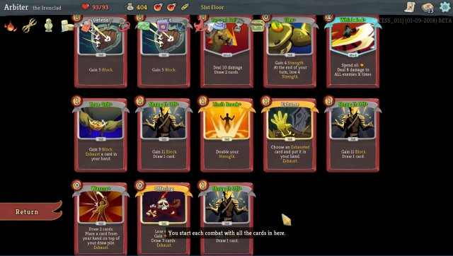 Slay the Spire - Ironclad Win Streak Guide