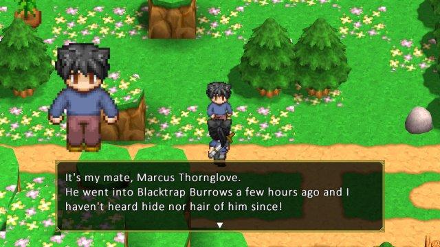FARIA: Spiritbird - Hidden Quest: Moonflower (Blacktrap Burrows)