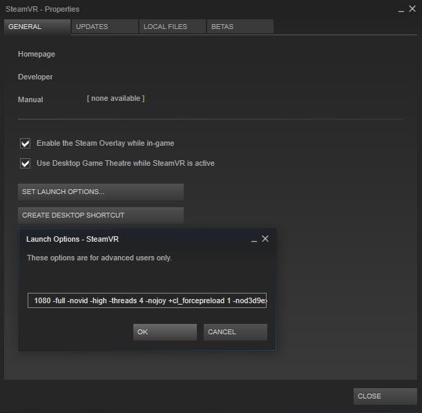 Steam - Error 405 When Opening SteamVR