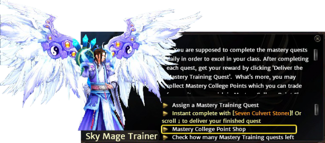 Phoenix Dynasty 2 - Mastery Training Quests