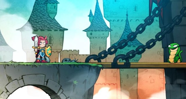 Wonder Boy: The Dragon's Trap - Easy Gold and Items Early in the Game