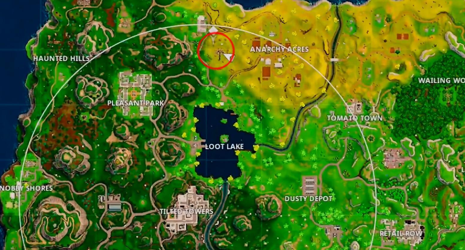 dusty depot treasure map