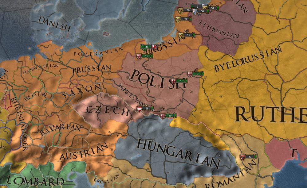 Europa Universalis IV - How to Get the Three Mountains Achievement