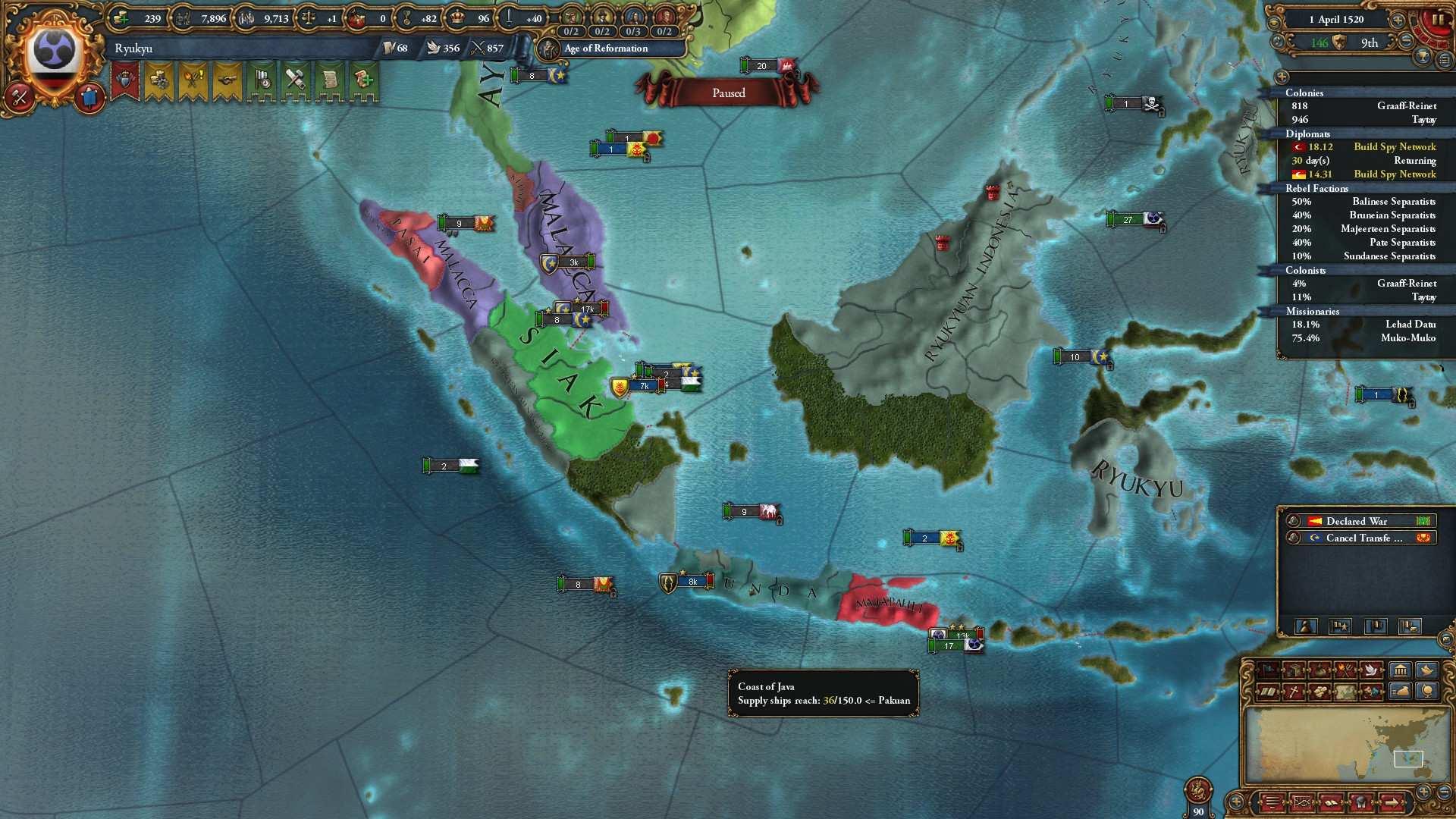 Europa Universalis IV - How to Get the Three Mountains
