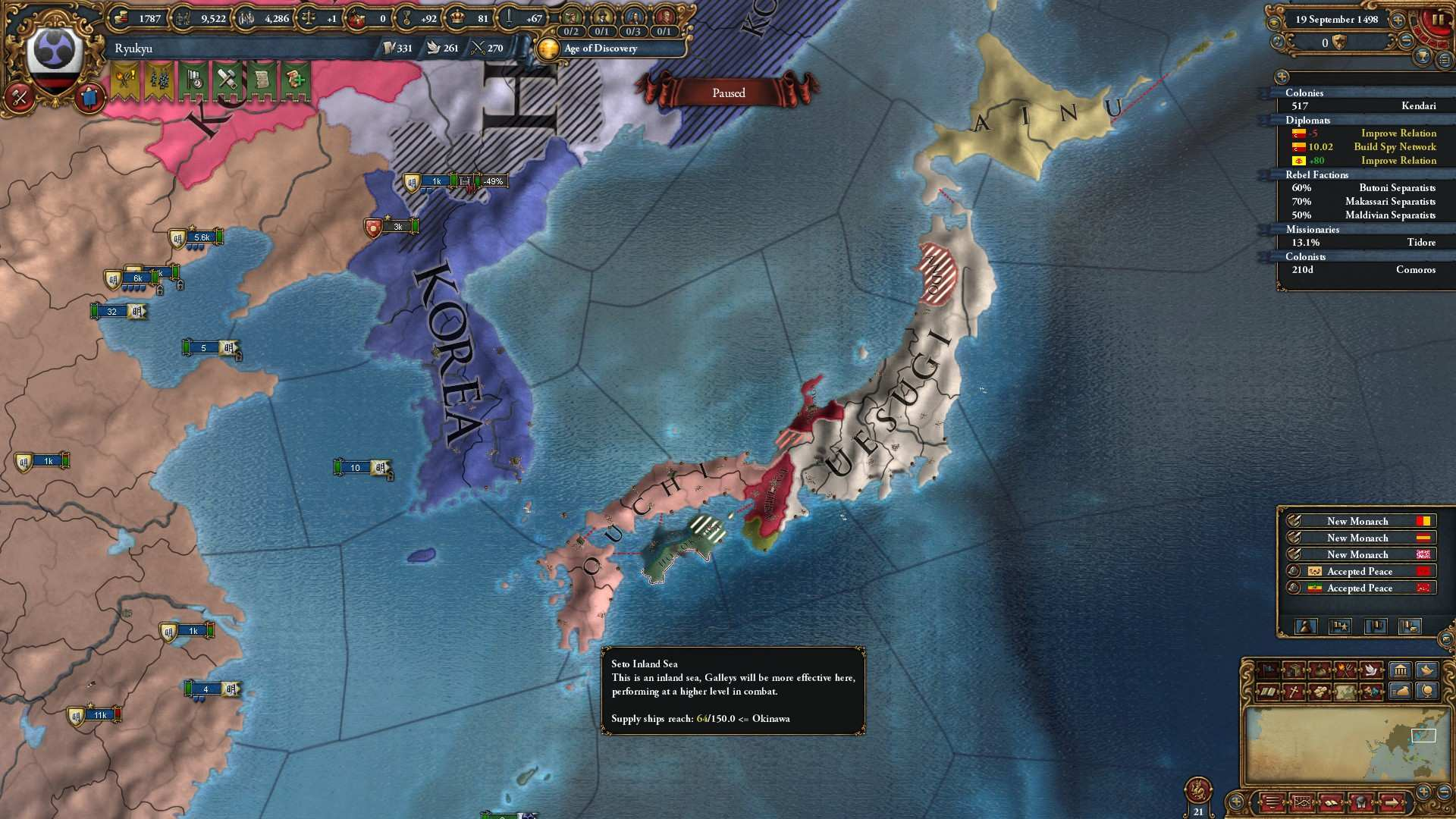 Europa Universalis IV - How to Get the Three Mountains