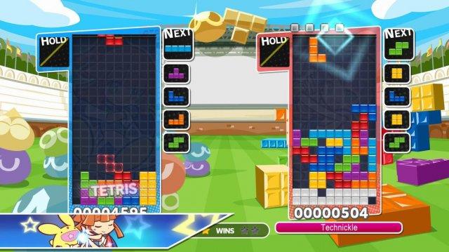 Puyo Puyo Tetris - How to Beat a T Spin God