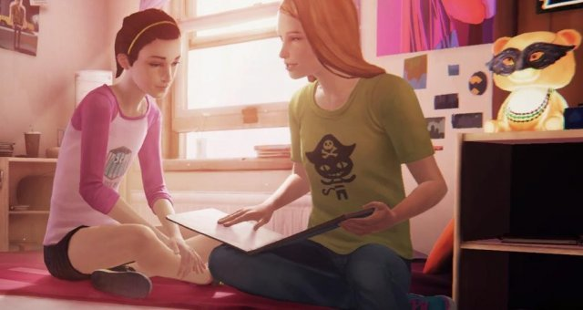 Life is Strange: Before the Storm - Episode Farewell Easter Egg