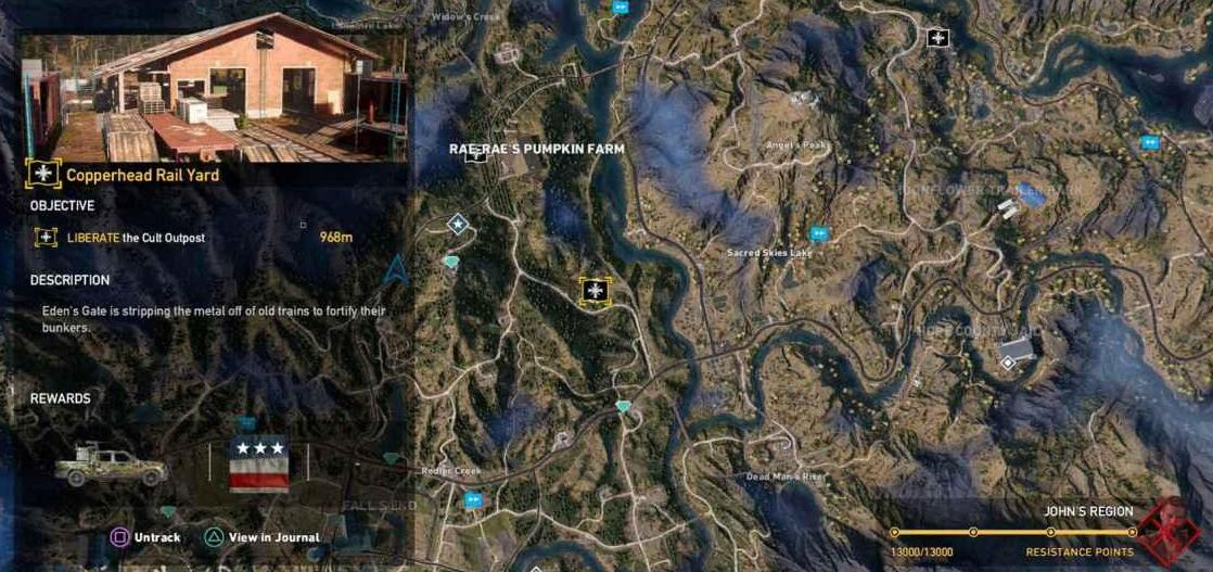 Far Cry 5 Johns Region Pictures To Pin On Pinterest: All Outpost Locations