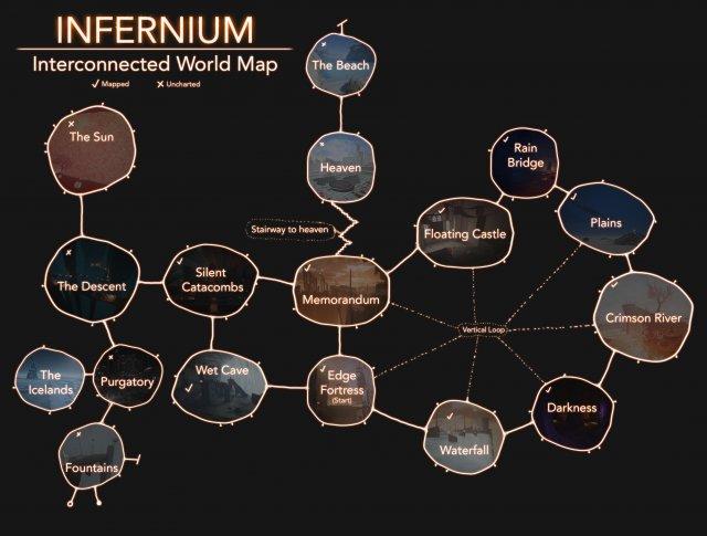 Infernium - World Maps