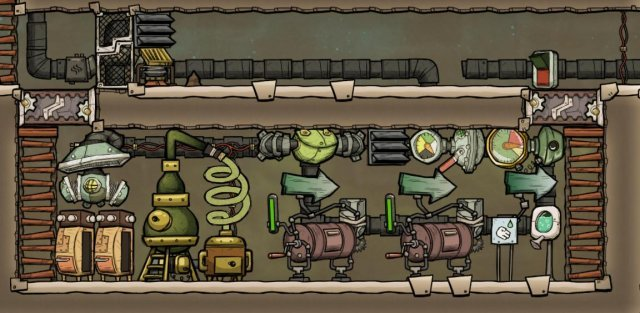 Oxygen Not Included - Useful Construction Patterns