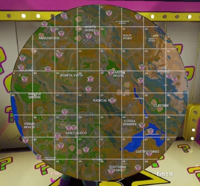 Radical Heights - Mystery Doors Locations