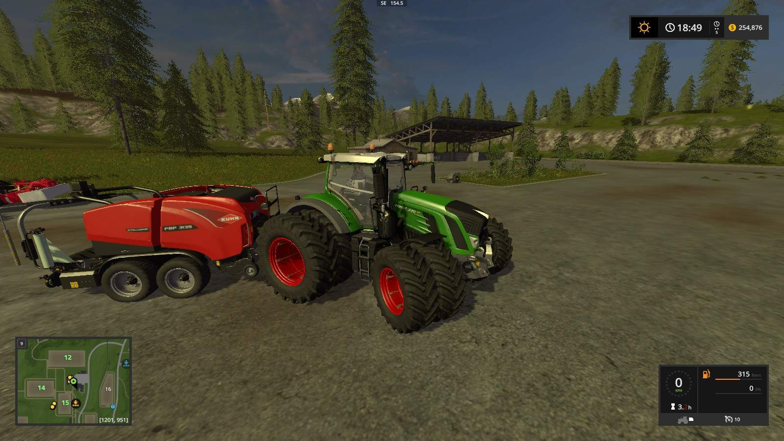 Farming Simulator 17 - How to Make Money with Silage Bales