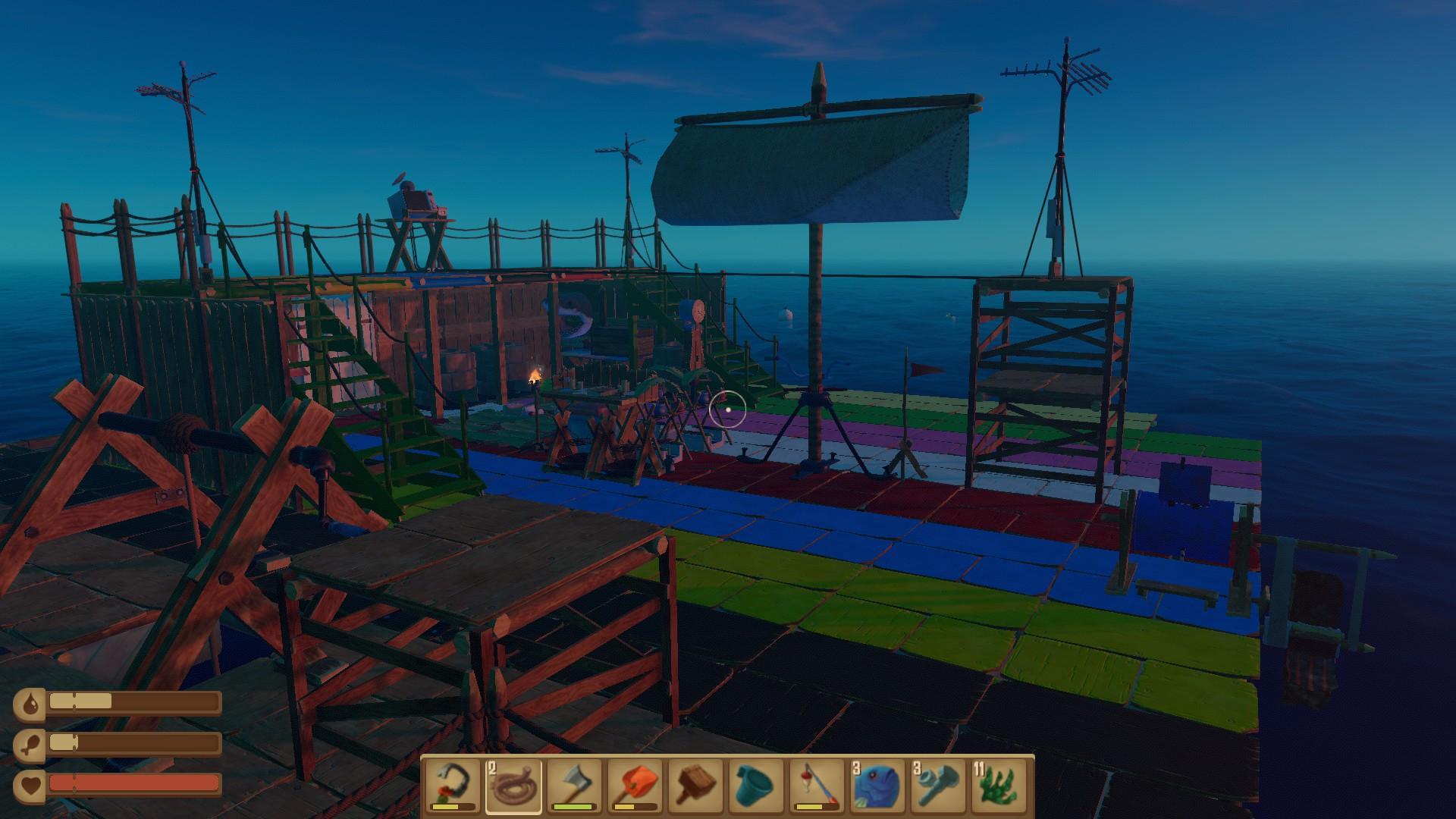 Raft - End Game (Spoiler)
