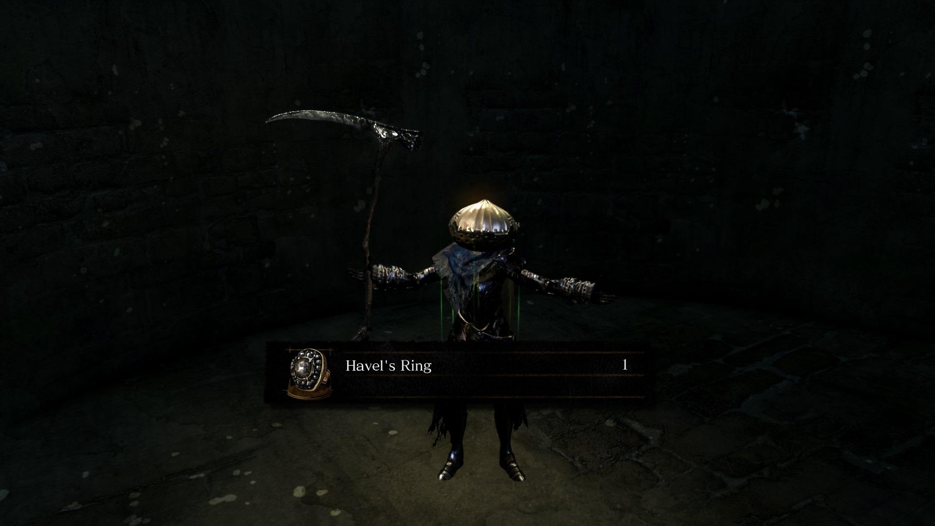 dark souls remastered how to get havel s ring
