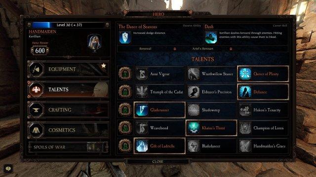 Warhammer: Vermintide 2 - Legendary Handmaiden
