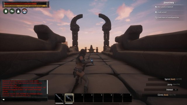 Conan Exiles - How to Remove the Bracelet and Quit the World + Boss Location