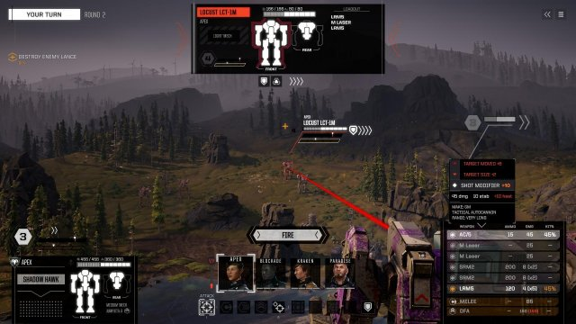 BATTLETECH - Understanding Hit Percentages and Accuracy