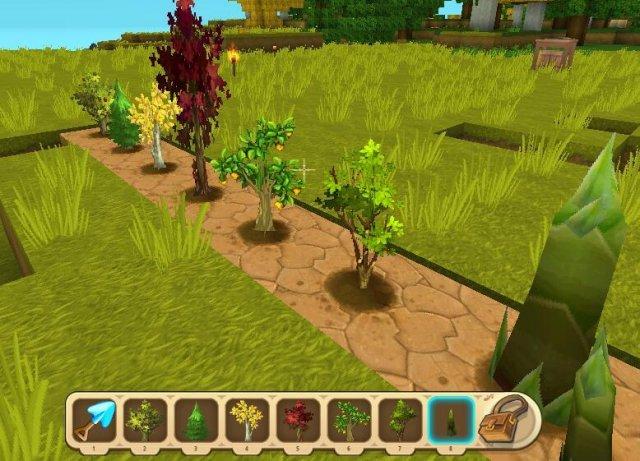 Mini World: Block Art - How to Plant a Sapling