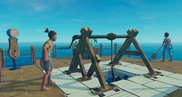 Raft - Best Strategy to Kill the Shark