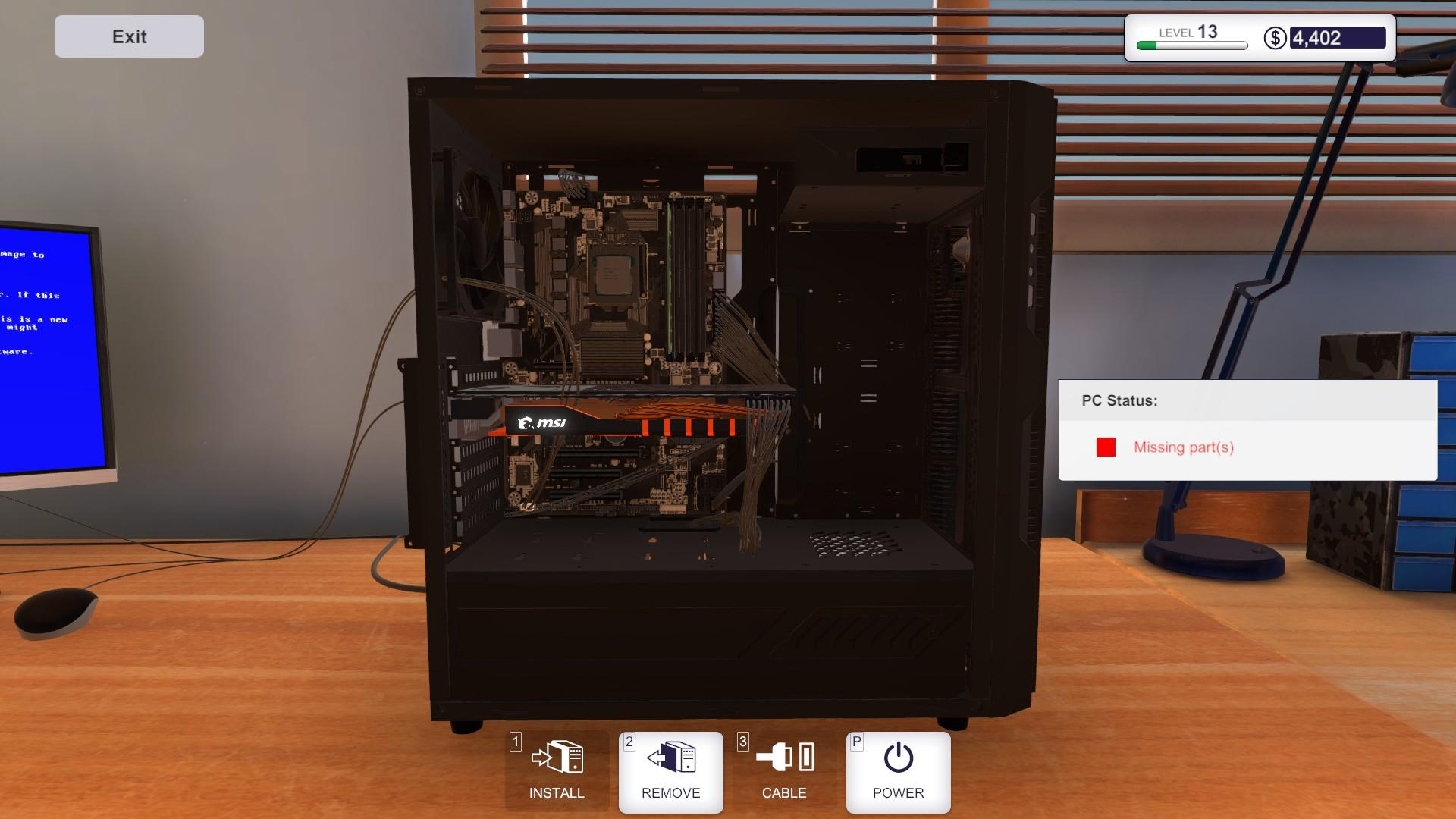 Pc Wiring Guide Detailed Schematics Diagram Starbound Building Simulator Bsod Blue Screen Of Death