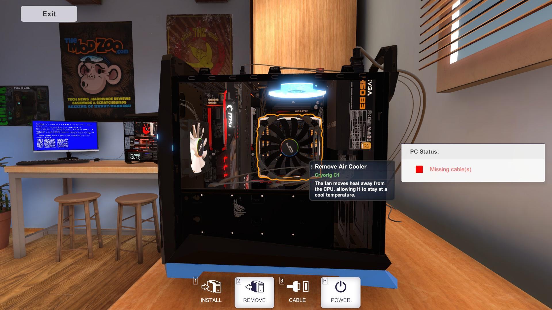 PC Building Simulator - BSOD Guide (Blue Screen of Death)