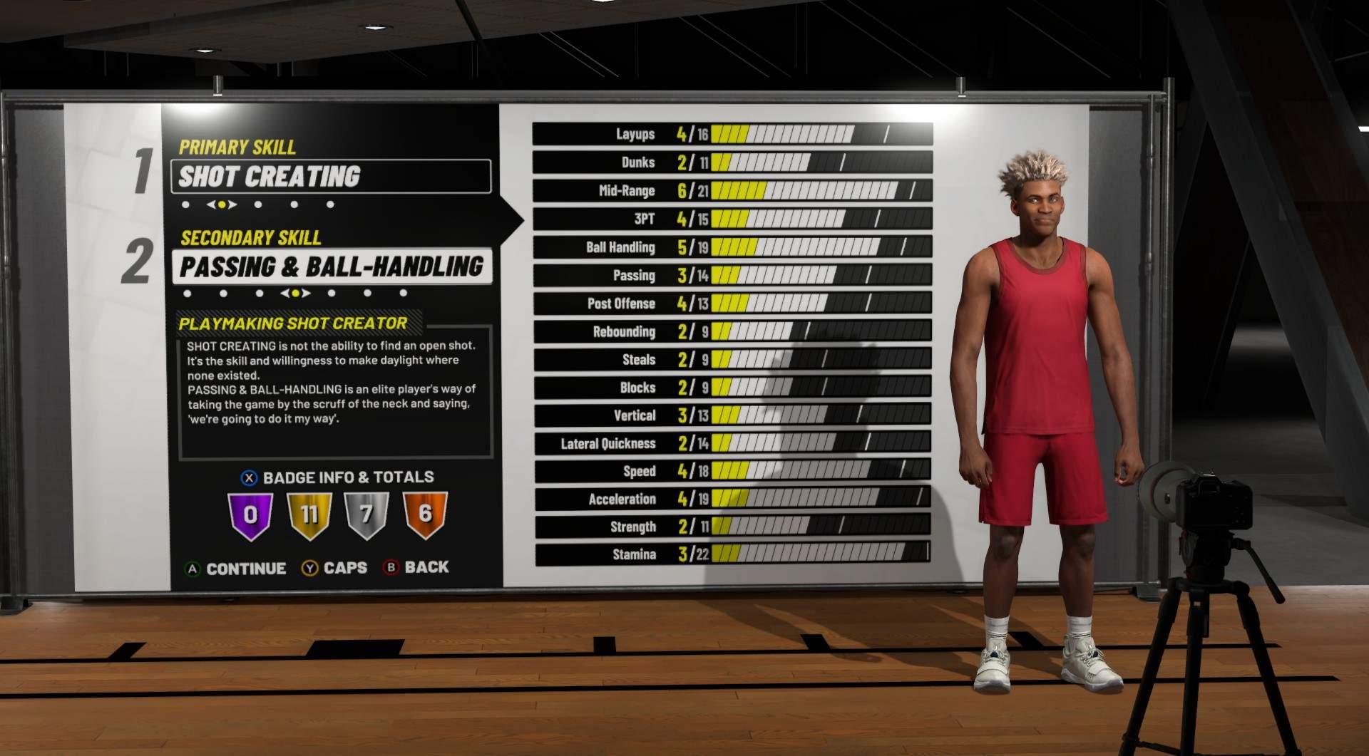NBA 2K19 - Build Recommendations