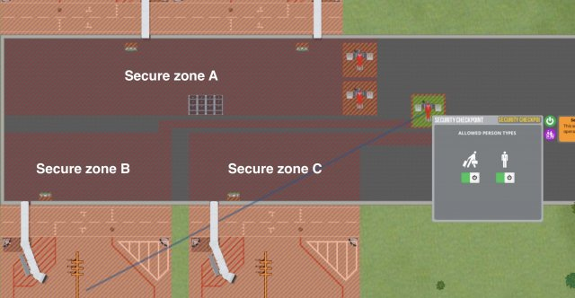 Airport CEO - Separated Secure Zones