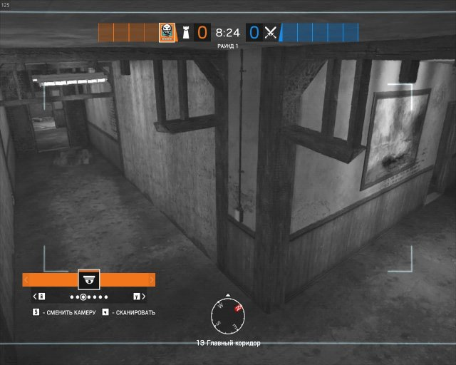 Rainbow Six Siege - All Cameras on New Hereford Base