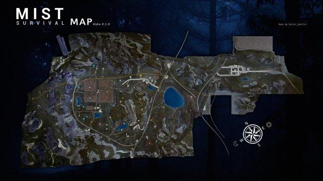 Mist Survival - Map