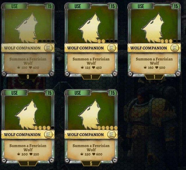 Warhammer 40,000: Space Wolf - Wolf Guide