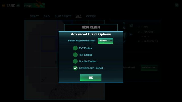 Creativerse - Claims and Permissions