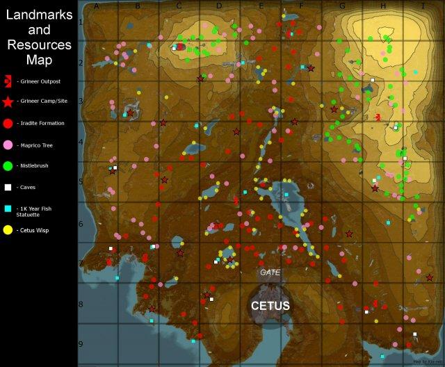 Warframe - Cetus Wisp Guide