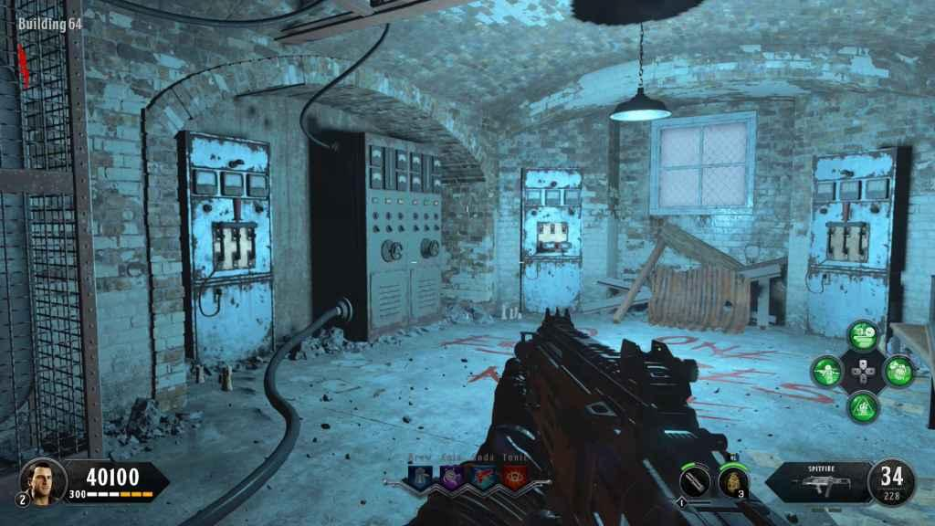 Call of Duty: Black Ops 4 - How to Turn On the Power on ... Call Of The Dead Map on call of duty map, black ops map, world at war map, no man's land map, mob of the dead map, call of duty dead ops,