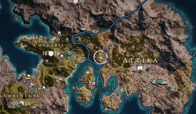 Assassin's Creed Odyssey - How to Find the Pilgrim's Armor Set (Legendary Armor)